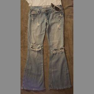 👖🛍2 pair Hollister Jeans size 0 Short